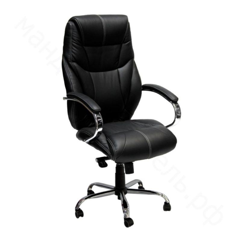 фото кресло руководителя натуральная кожа люкс HD-2098BH