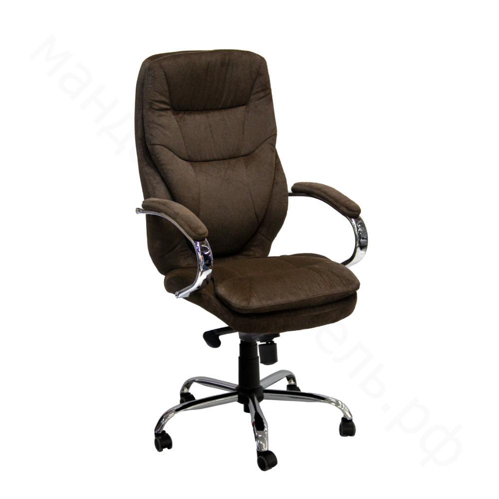 фото кресло руководителя офисное велюр HD-2134BH