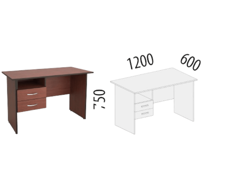 Купить Однотумбовый стол Рубин 41 в Красноярске