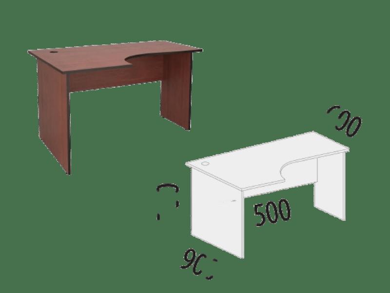 Купить Эргономичный стол левый Рубин 41 в Красноярске